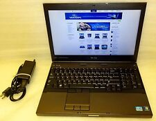 Dell Precision M4600 2.50ghz Quad Core i7 16GB 256GB SSD RW Windows 10 64 Camera