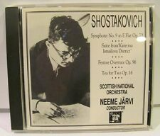 Shostakovich sym no 9, Neeme Jarvi CD NM