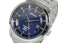 Seiko Men's Kinetic 100m GMT Watch SUN031P1 Warranty, Box