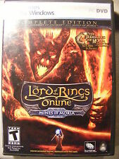 Lord of the Rings Online: Mines of Moria plus Shadows of Angmar (2 discs, 2008)