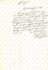 1834 BRESCIA Affitto della casa in Vicolo TRE ARCHI di Carlo Antonio VENTURINI