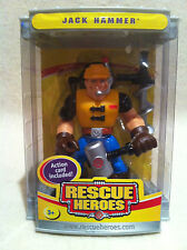 Rescue Heroes  Collectors Edition Jack Hammer! Factory Sealed!