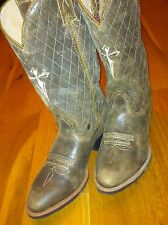 TWISTED X NEW Men Cowboy Distressed Leather Boots RRP £195 US 8D /UK 7.5