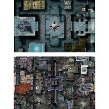 Custom Star Wars Miniatures/RPG Map (Pirates Moon NW/Crime Lords Palace)