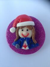 Nurse Badge - CHRISTMAS Handmade for your nurses uniform scrubs Nurse name badge