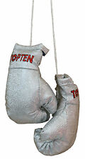 Top Ten- Mini Boxing Gloves. Silber. Souvenier. Anhänger. Lifestyle.
