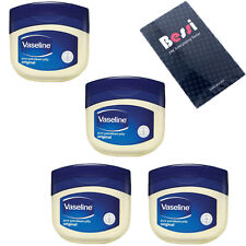 Vaseline Pure Petroleum Jelly 100g x 4pcs 3.75oz For Dry Skin of All Skin Types