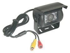 Black Rear View or Reversing Camera with night vision for Motorhomes