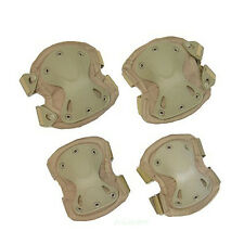 Tactical Combat Knee and Elbow Outdoor Sports Protective Pads Protect Safety Set