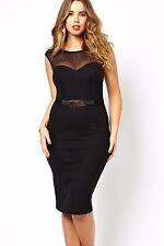 Abito Trasparente Taglie forti Grandi Curvy Formosa Plus Size Lace Dress XXL