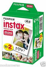 FUJIFILM INSTAX  MINI INSTANT Film (10 Sheets x 2 Packs) 20 SHEETS FRESH STOCK