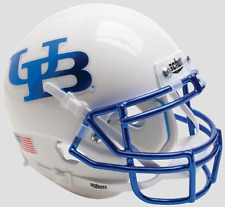 BUFFALO BULLS NCAA Schutt XP Authentic MINI Football Helmet (CHROME)