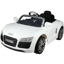 Audi R8 Spyder Licensed 12V Electric Kids Ride On Car MP3 RC Remote Control New