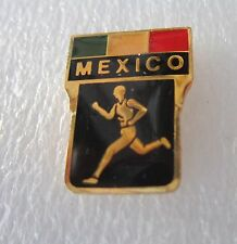 1984 LOS ANGELES OLYMPICS MEXICO ATHLETICS TRACK AND FIELD TEAM PIN BADGE