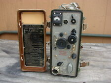 Complete Russian Military Radio Transceiver p-105-m with All Accessories in Case