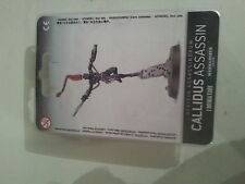 WARHAMMER 40K CALLIDUS ASSASSIN - NEW & SEALED