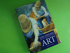 THE OXFORD DICTIONARY OF ART LIKE NEW HC DJ