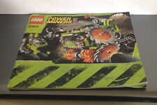 Lego 8959 Power Miners Claw Digger Instructions Book Manual ONLY