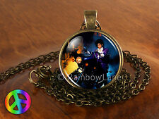 Prince RIP Purple Rain Sign Symbol Shirt Poster Necklace Pendant Jewelry Gift