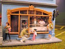 CAFFE 'FREDDO Fontanella Faller, minidiorama, con molti preiserfiguren, illuminato