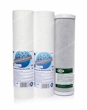 SET OF 1 MICRON AND 5 MICRON FILTER AND CARBON BLOCK•REVERSE OSMOSIS•REPLACEMENT