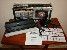 Foremost Halogen Light HOLIDAY PROJECTOR w/ 12 Slides - Christmas, Halloween