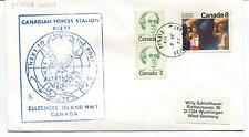 1977 Belleville Ellesmere Island Canadian Forces Station Polar Antarctic Cover