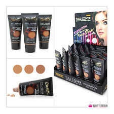 24 x FOUNDATION CREAM DARK SHADES DISPLAY BOX (3 SHADES) 45 ml. WHOLESALE LOT UK
