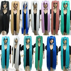 New Vocaloid Hatsune Miku Show Anime Costume Cosplay Party Hari wig +Gift