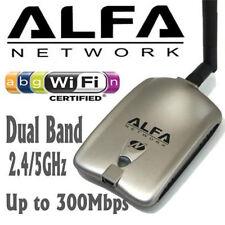 Alfa AWUS051NH V2 Dual Band USB Wireless N 802.11a/b/g/n WiFi Adapter