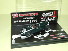 COOPER T51 CHAMPION 1959 J. BRABHAM BRUMM S051