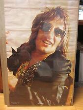 Rod Steward rock n roll orig 1973 Vintage Poster vintage