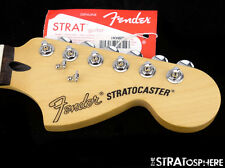 "Fender Deluxe Series Stratocaster NECK + LOCKING TUNERS Strat 12""/ 6105 Rosewood"