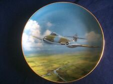 "Danbury Mint The Classic RAF Aircraft ""Gloster Meteor"" plate"