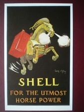 POSTCARD  POSTER FOR SHELL - FOR THE UTMOST HORSR POWER