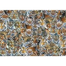 NEW! Otter House Impossible Puzzle Tigers 500 piece jigsaw in a tin