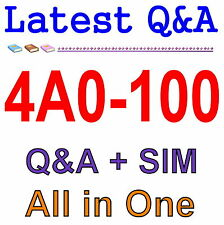Alcatel-Lucent Scalable IP Networks 4A0-100 Exam Q&A PDF+SIM