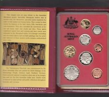 1990 Australia Proof Coin Set in Folder with outer Box & Certificate *