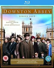 Downton Abbey Series 5 Blu Ray Box Set Complete  New UK Downtown Dontown Donton