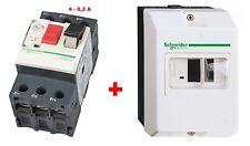 Disjoncteur 4-6,3A + Coffret - SCHNEIDER TELEMECANIQUE GV2ME -  Pompe -