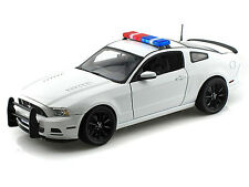 1/18 2013 Ford Mustang Boss 302 Police Car - Blank White - Great For Customs!