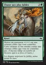 MTG Magic FRF - (4x) Hunt the Weak/Chasse aux plus faibles, French/VF