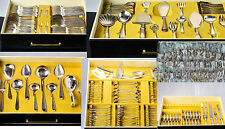 Antique Silver Dutch# Huge 236 Pc Silverplated Gero Netherlands 30' -50' Cutlery