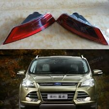 1Pair OEM Rear Tail Bumper Fog Light Lamps For Ford Escape 2013-2016