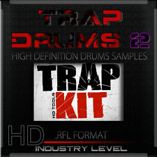 TRAP DRUMS  2 REASON REFILLS SOUND PACKS