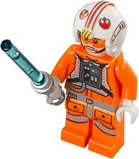 NEW LEGO STAR WARS LUKE SKYWALKER MINIFIG rebel pilot figure minifigure 75049