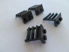 Lego 4175 # 4x Leiter Winkel 1x2 Schwarz 10014 7839 4547
