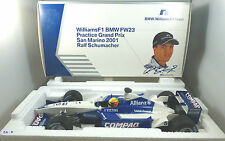WILLIAMS BMW FW23 #5 Ralf SCHUMACHER SAN MARINO GP 2001 practice MINICHAMPS 1:18