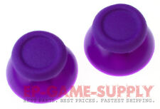 2x Purple Analog Thumbstick Thumb Stick Cap For PS4 DualShock Controller