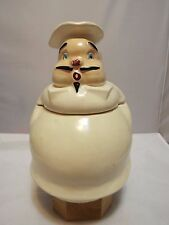 VINTAGE VERY RARE THE PFALTZGRAFF COMPANY CHEF COOKIE JAR #2